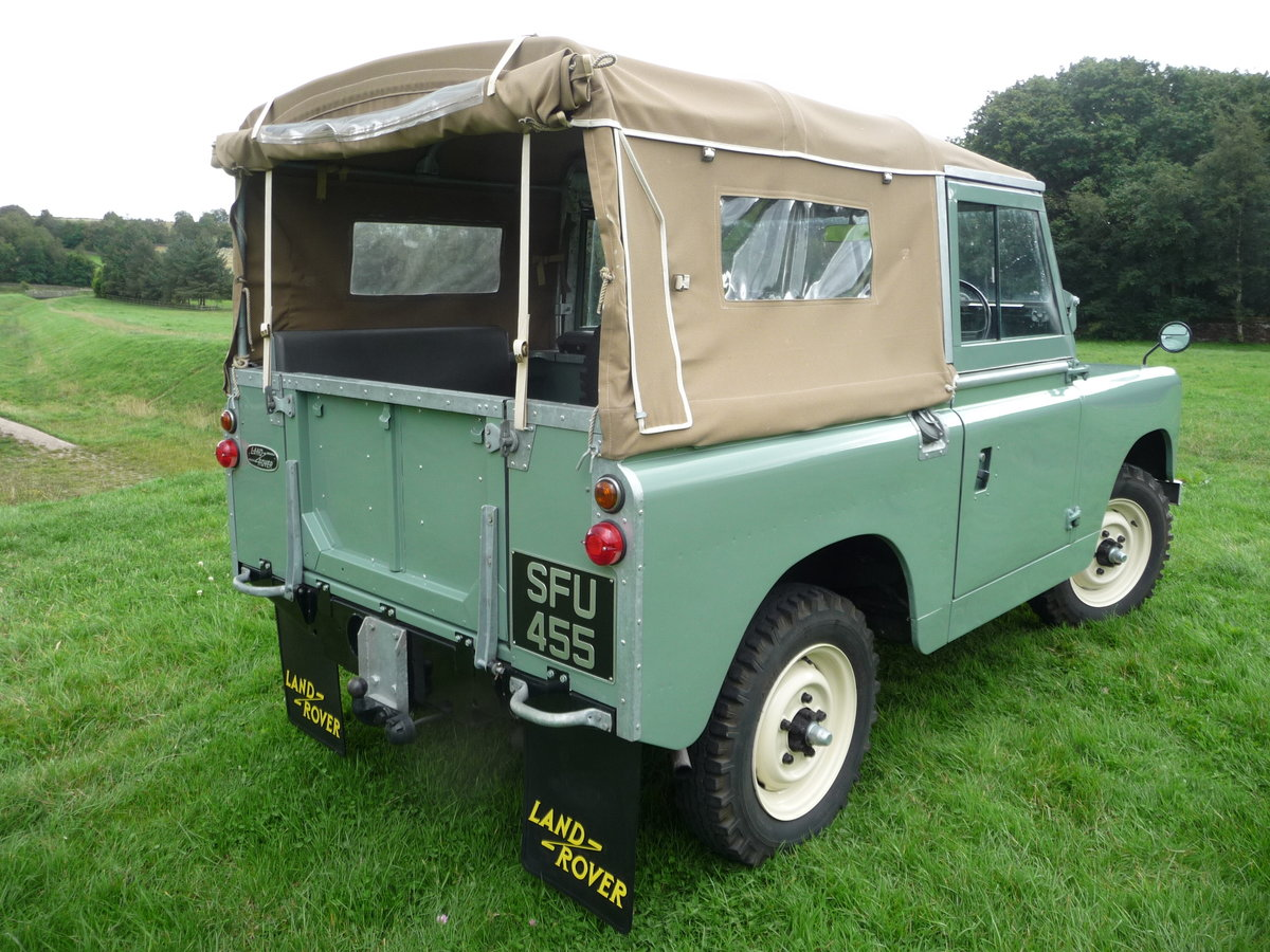 """1958 LAND ROVER SERIES 2 – """"MABEL"""" – FULLY REBUILT For Sale (picture 4 of 10)"""
