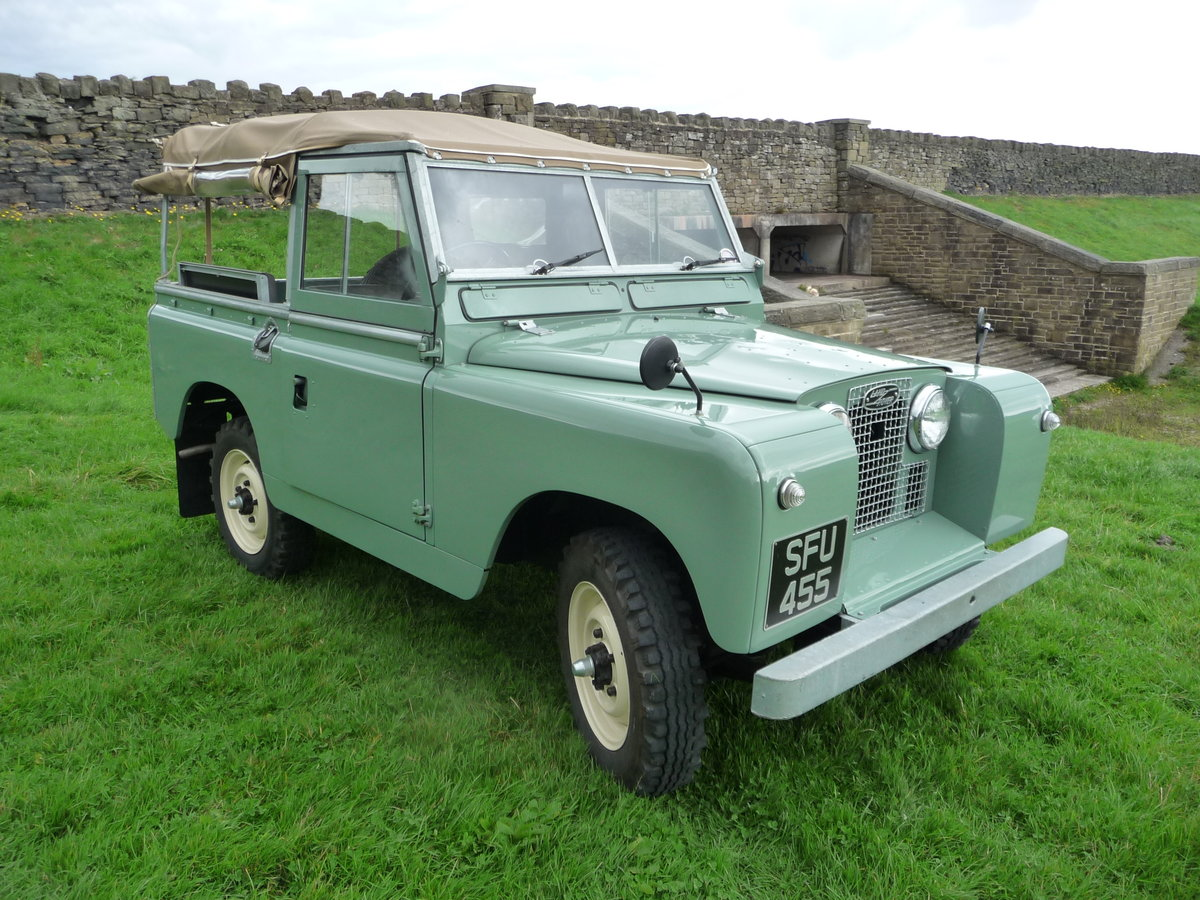 """1958 LAND ROVER SERIES 2 – """"MABEL"""" – FULLY REBUILT For Sale (picture 5 of 10)"""
