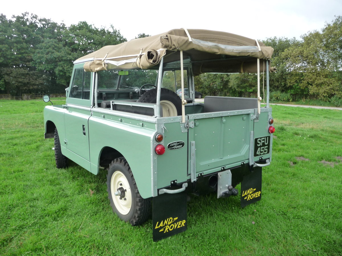 """1958 LAND ROVER SERIES 2 – """"MABEL"""" – FULLY REBUILT For Sale (picture 6 of 10)"""