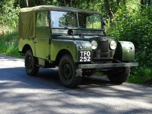 1952 Land Rover 80