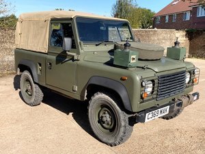 1986 land rover 90 ex-military soft top 200tdi power+PAS+6 seater