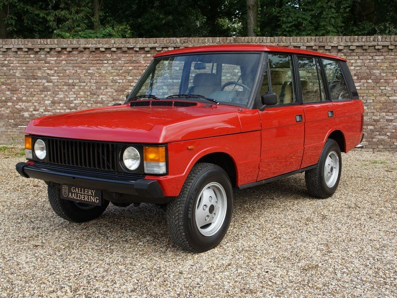 1983 Land Rover Range Rover 3.5 V8 Classic manual 5-speed, only 5 For Sale (picture 1 of 6)