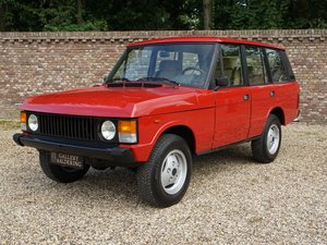 1983 Land Rover Range Rover 3.5 V8 Classic manual 5-speed, only 5