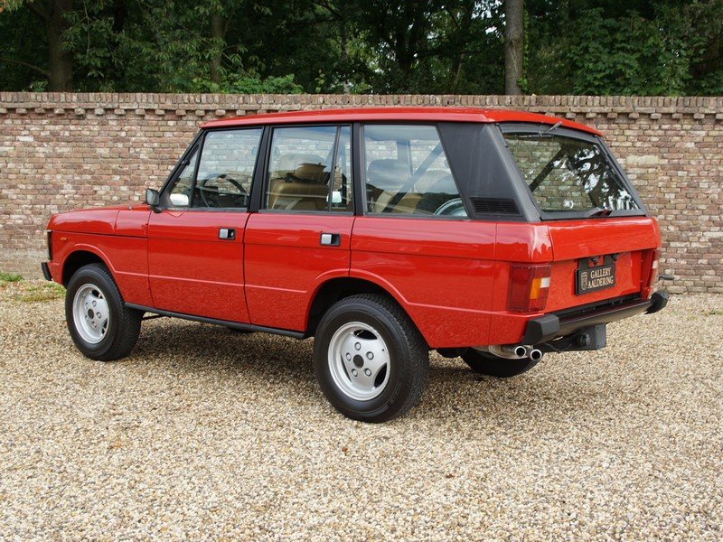 1983 Land Rover Range Rover 3.5 V8 Classic manual 5-speed, only 5 For Sale (picture 2 of 6)