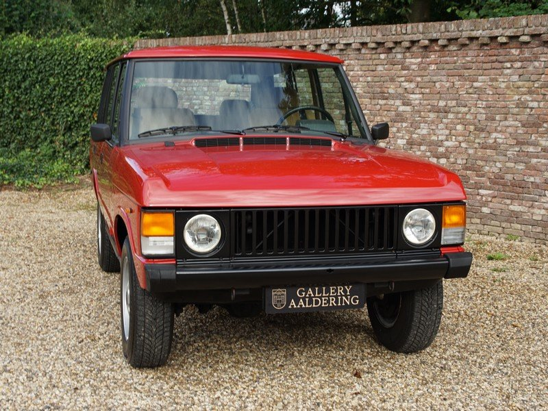 1983 Land Rover Range Rover 3.5 V8 Classic manual 5-speed, only 5 For Sale (picture 5 of 6)