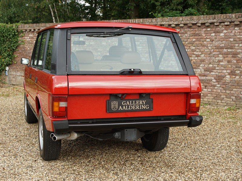 1983 Land Rover Range Rover 3.5 V8 Classic manual 5-speed, only 5 For Sale (picture 6 of 6)