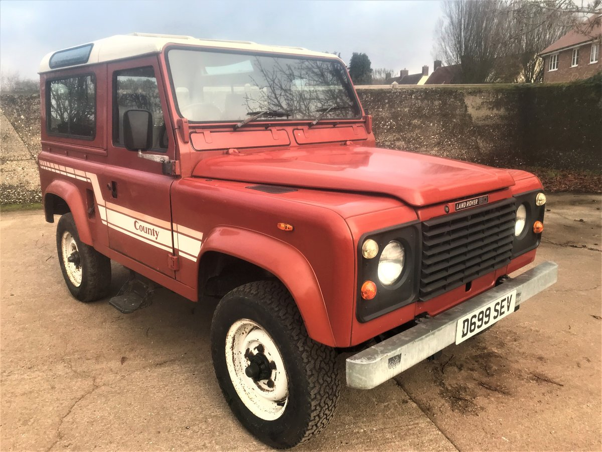1986 land rover 90 2.5 petrol CSW 2 owners 94000m exportable For Sale (picture 1 of 6)