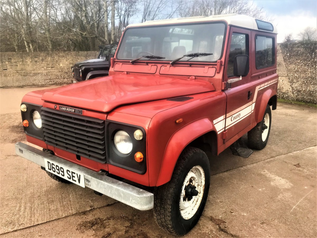 1986 land rover 90 2.5 petrol CSW 2 owners 94000m exportable For Sale (picture 2 of 6)