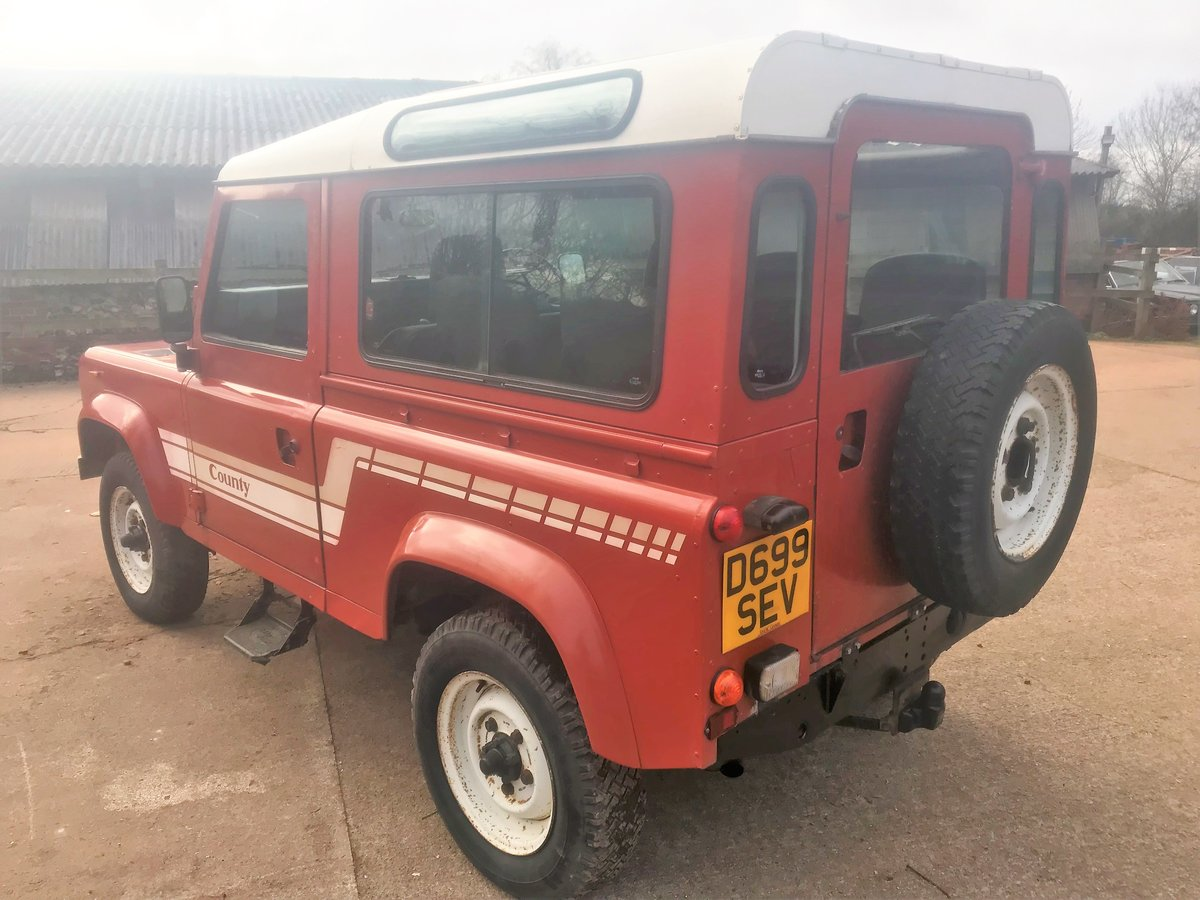 1986 land rover 90 2.5 petrol CSW 2 owners 94000m exportable For Sale (picture 4 of 6)