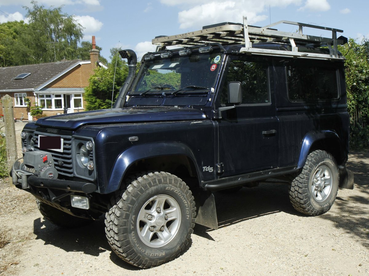2003 Land Rover defender Td5 For Sale (picture 1 of 4)