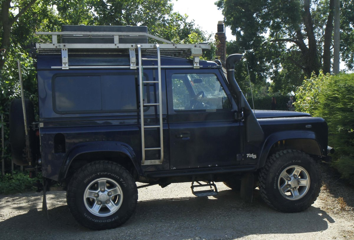 2003 Land Rover defender Td5 For Sale (picture 2 of 4)