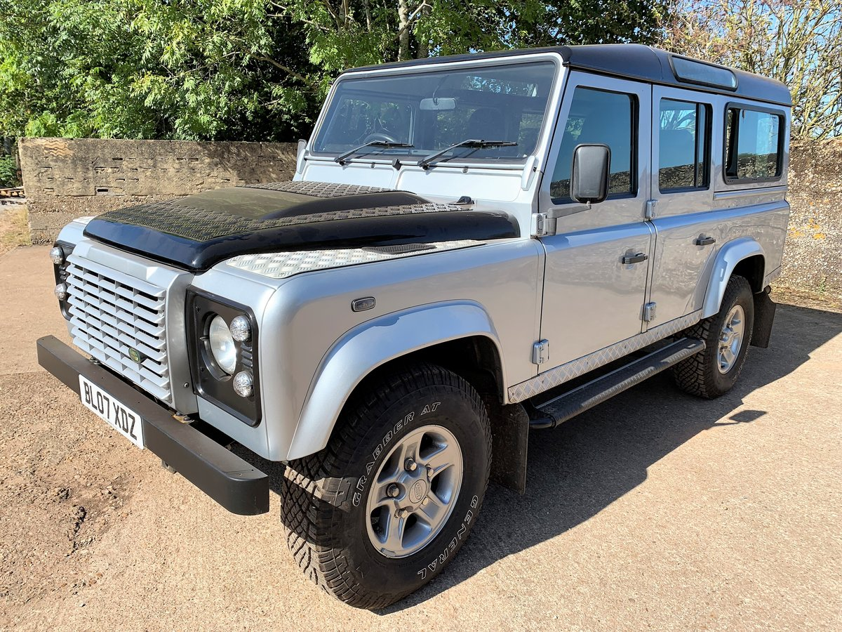 2007 Defender 110 TDCi XS station waqon +good history 75000m For Sale (picture 2 of 6)