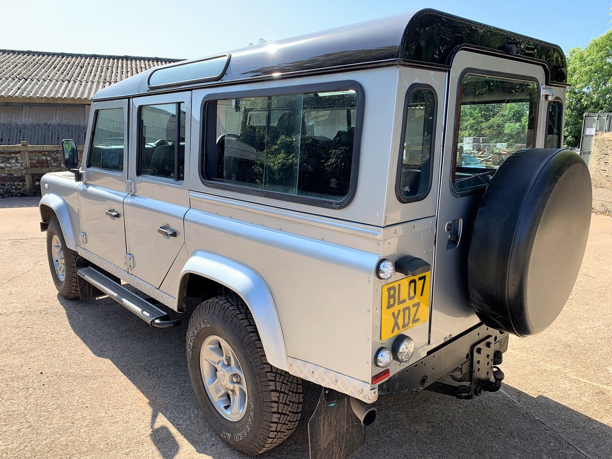 2007 Defender 110 TDCi XS station waqon +good history 75000m For Sale (picture 5 of 6)