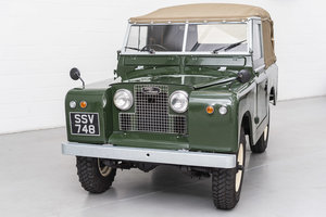 1960 Land Rover Series II 2 - Recent restoration