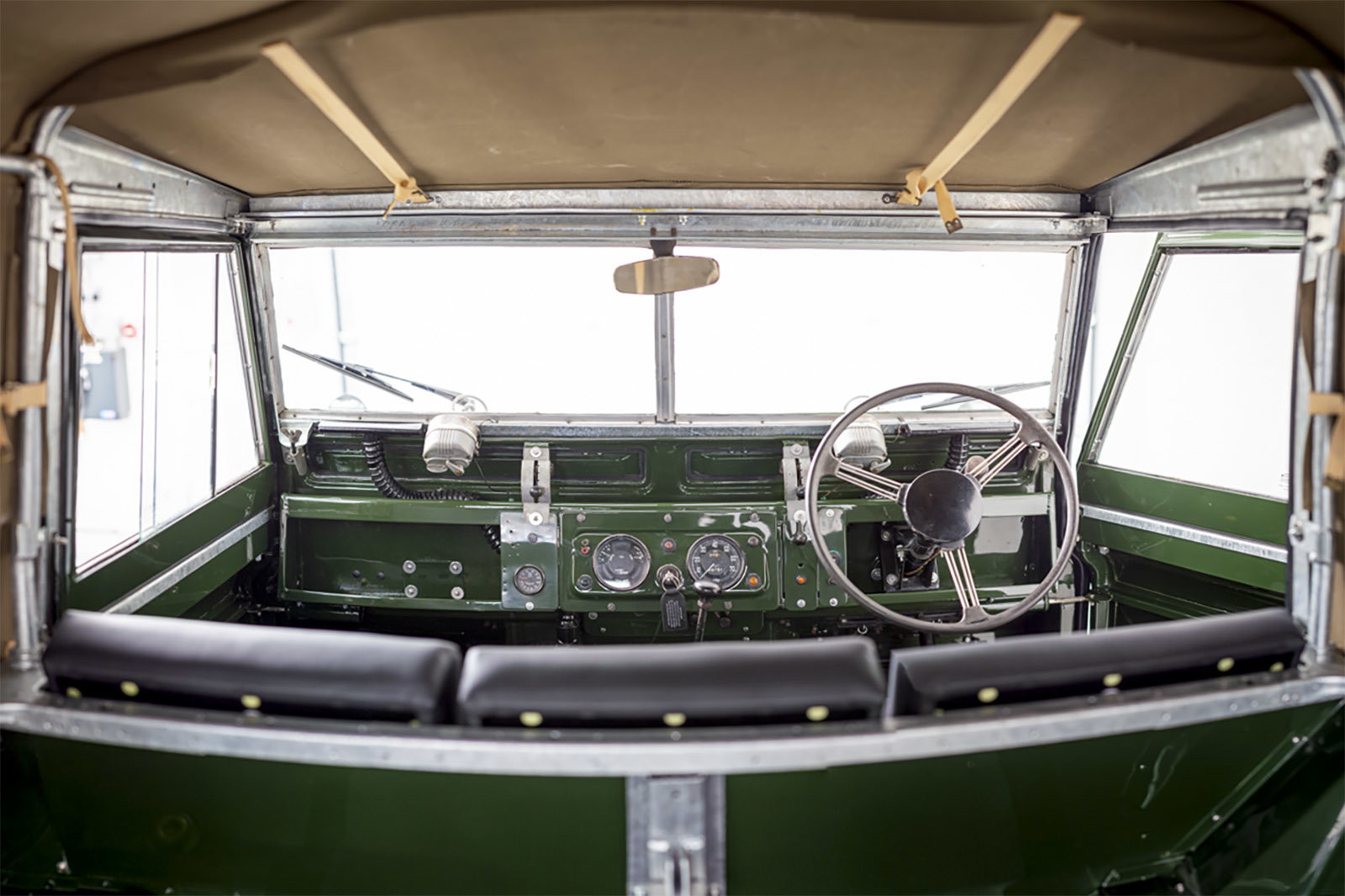 1960 Land Rover Series II 2 - Recent restoration For Sale (picture 4 of 6)