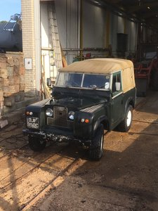 1965 Land Rover series 2a 88""