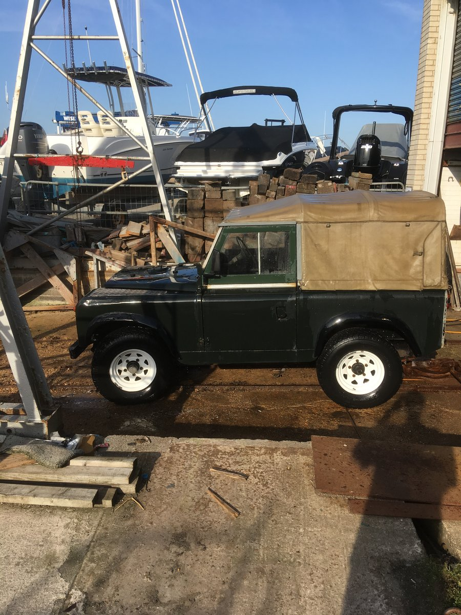 """1965 Land Rover series 2a 88"""" For Sale (picture 2 of 6)"""