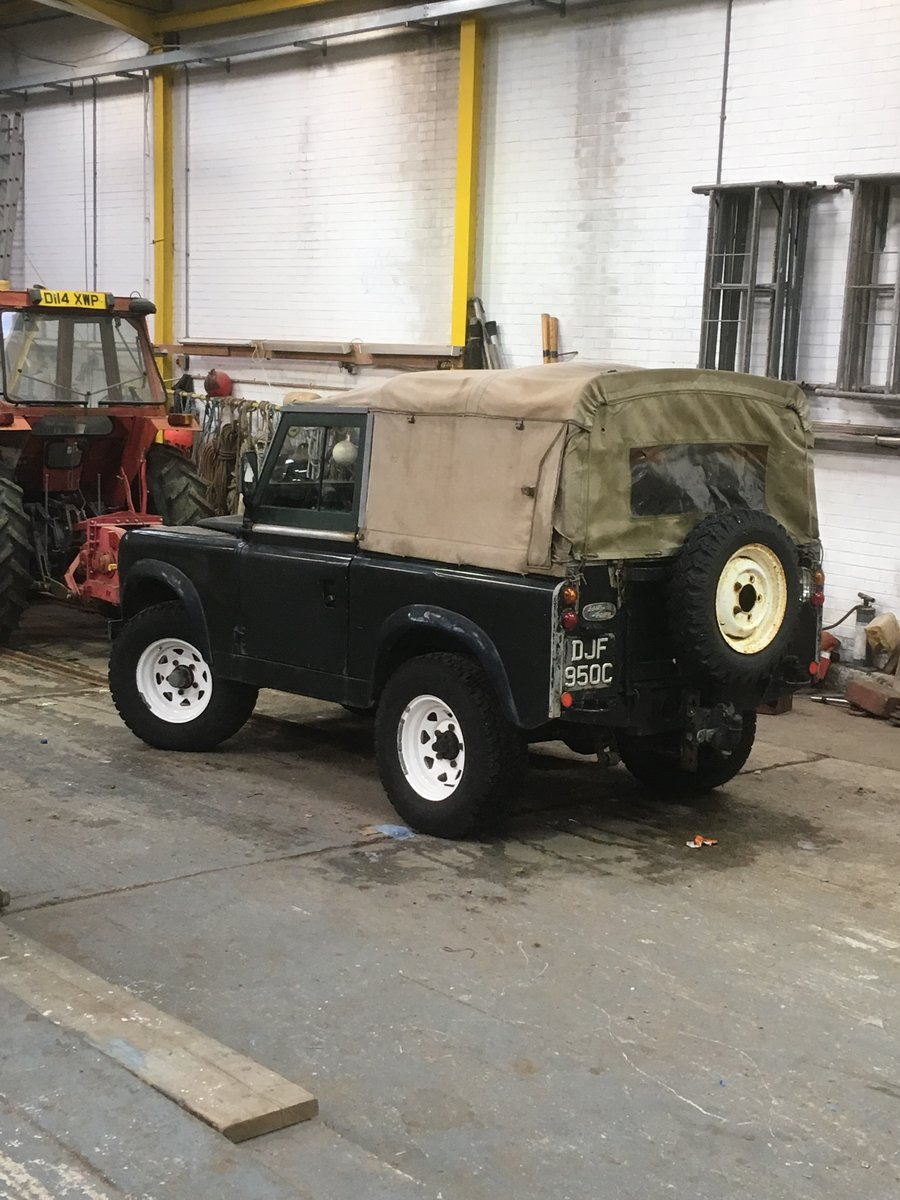 """1965 Land Rover series 2a 88"""" For Sale (picture 3 of 6)"""