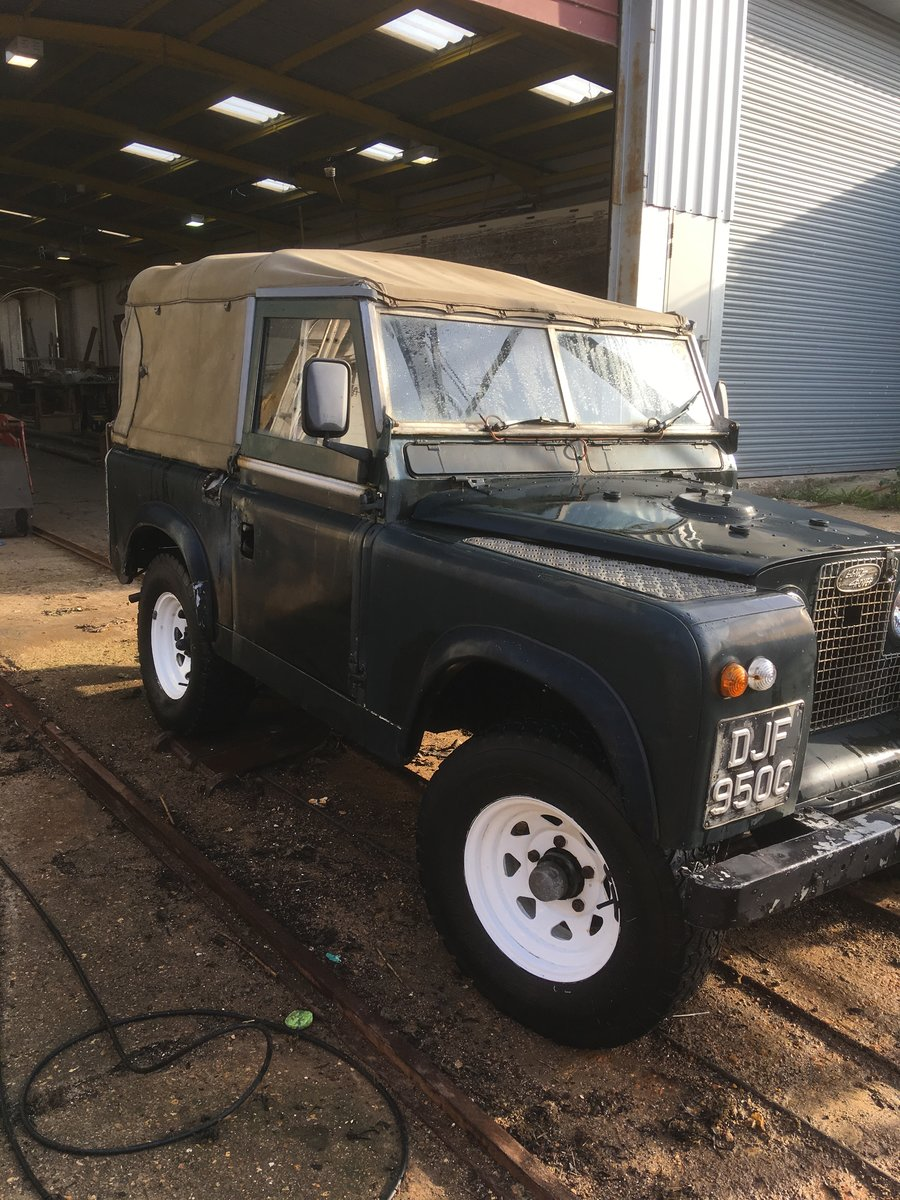 """1965 Land Rover series 2a 88"""" For Sale (picture 6 of 6)"""