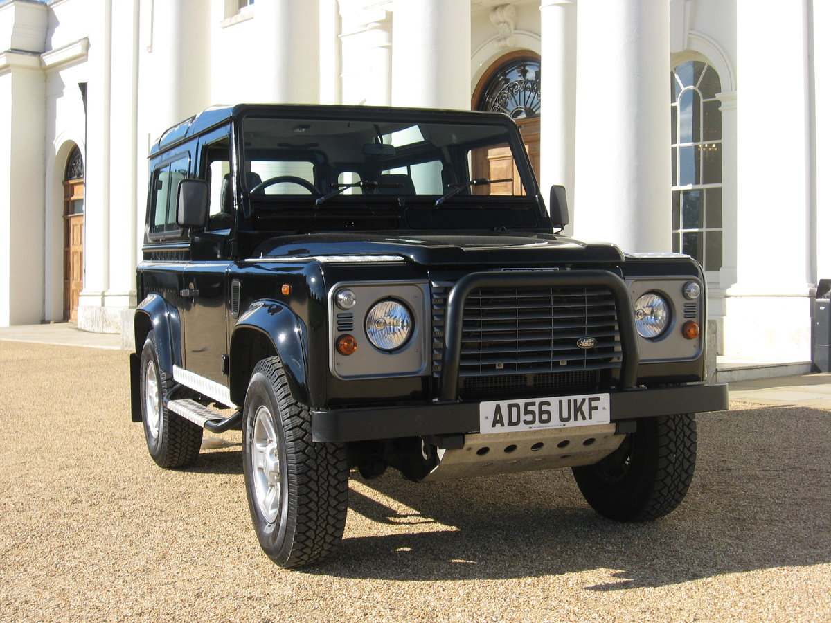 2007 Land-Rover Defender 90 County. For Sale (picture 1 of 6)