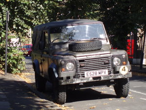 1989 Land Rover Defender 110, SAF Military
