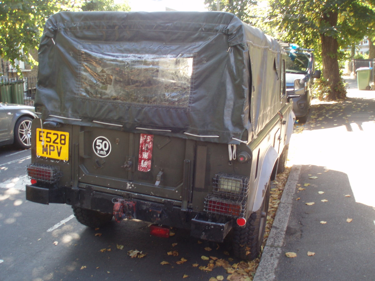 1989 Land Rover Defender 110, SAF Military  For Sale (picture 2 of 6)