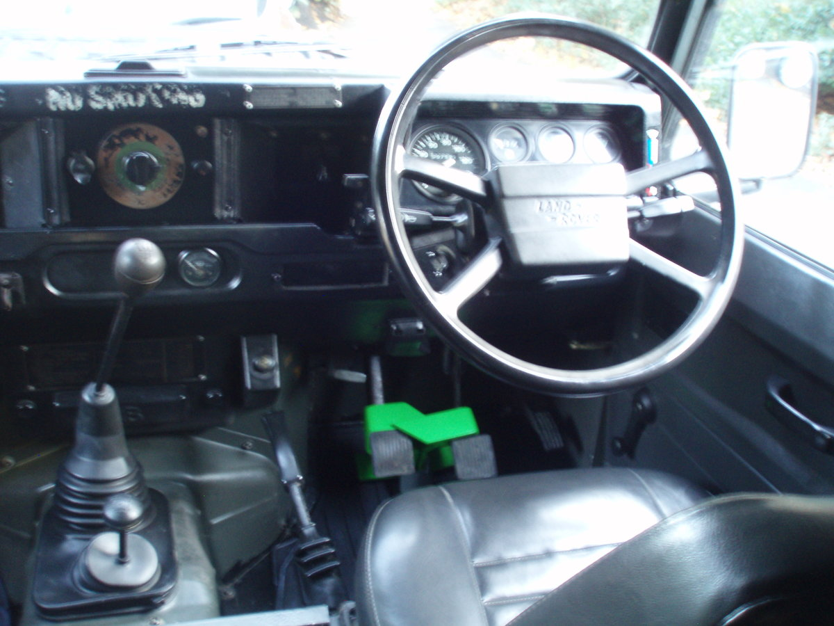 1989 Land Rover Defender 110, SAF Military  For Sale (picture 5 of 6)