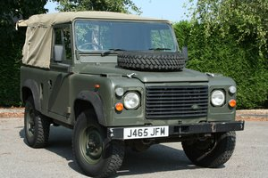 1992 Land Rover Defender 90 2.5D Ex MOD Soft Top