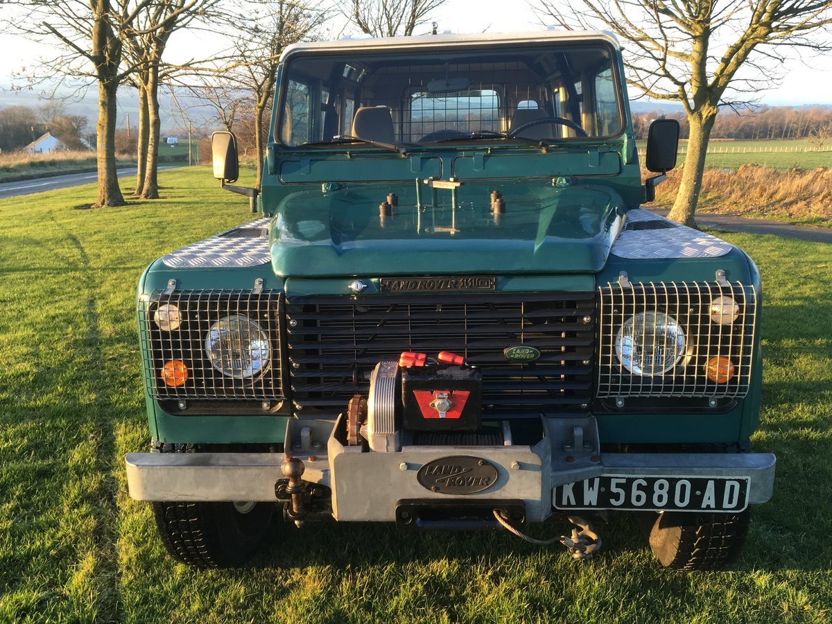 1985 Land Rover Defender 110 Station wagon L.H.D For Sale (picture 2 of 6)