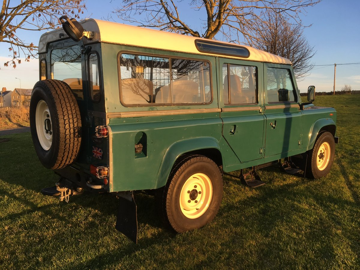 1985 Land Rover Defender 110 Station wagon L.H.D For Sale (picture 3 of 6)