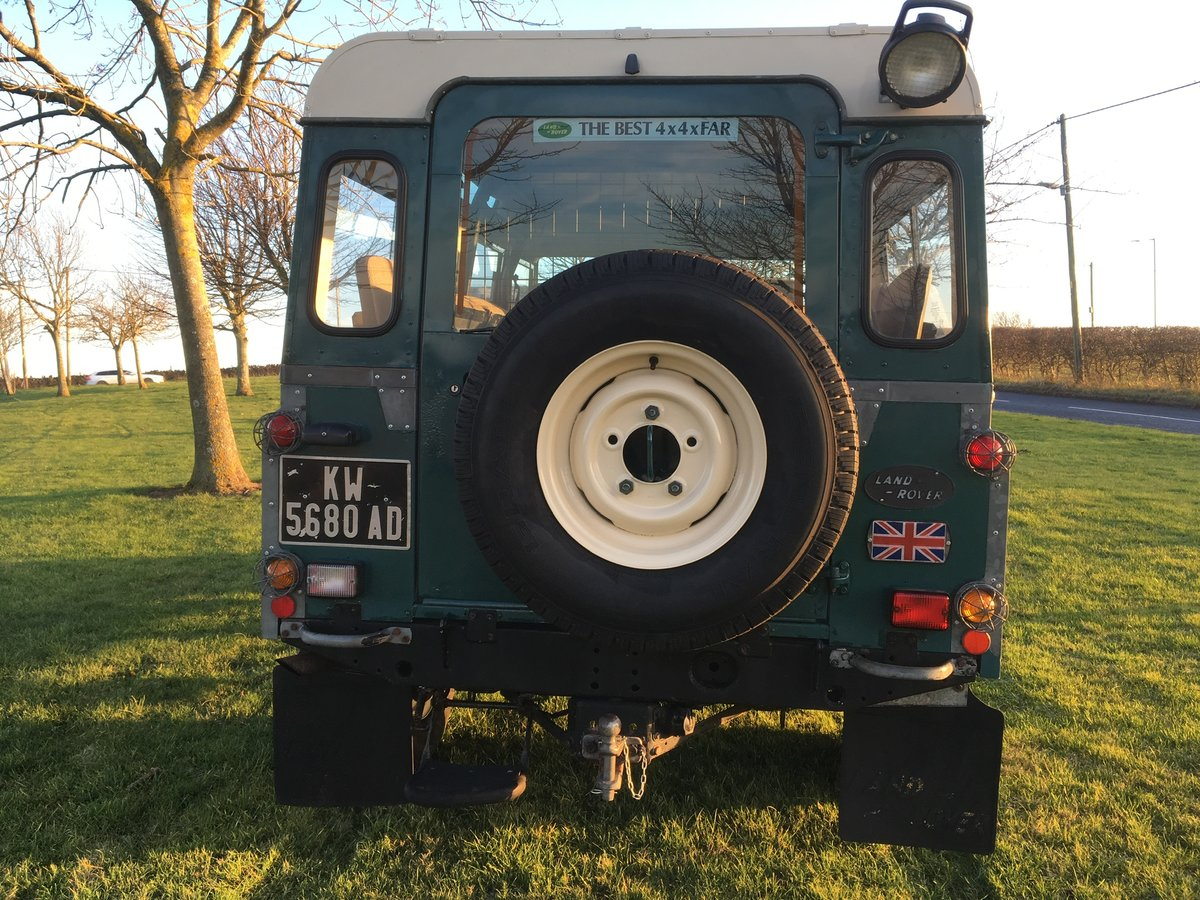 1985 Land Rover Defender 110 Station wagon L.H.D For Sale (picture 4 of 6)