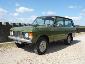 "WRU 606K – 1971 RANGE ROVER CLASSIC ""SUFFIX A"" – DIESEL !! For Sale"