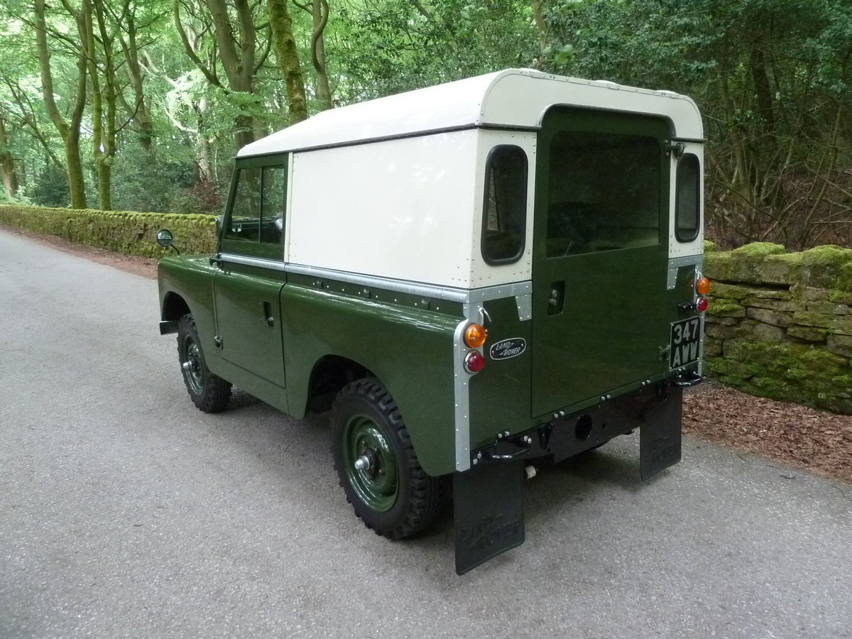 1962 LAND ROVER SERIES IIA – DIESEL – 63,000 MILES SOLD (picture 10 of 10)