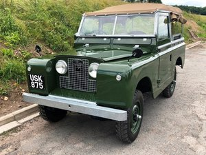 1959 Land Rover Series II, Concours condition