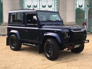 2003 Defender TD5 - Oslo Blue - Superb Updates + A/C For Sale