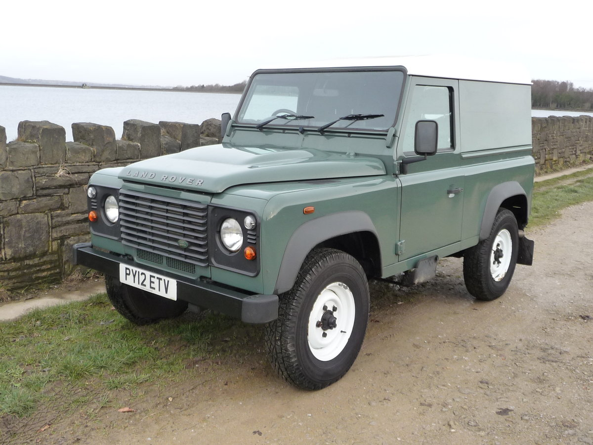 2012 LAND ROVER DEFENDER 90 HARD TOP – 28,000 MILES For Sale (picture 1 of 9)