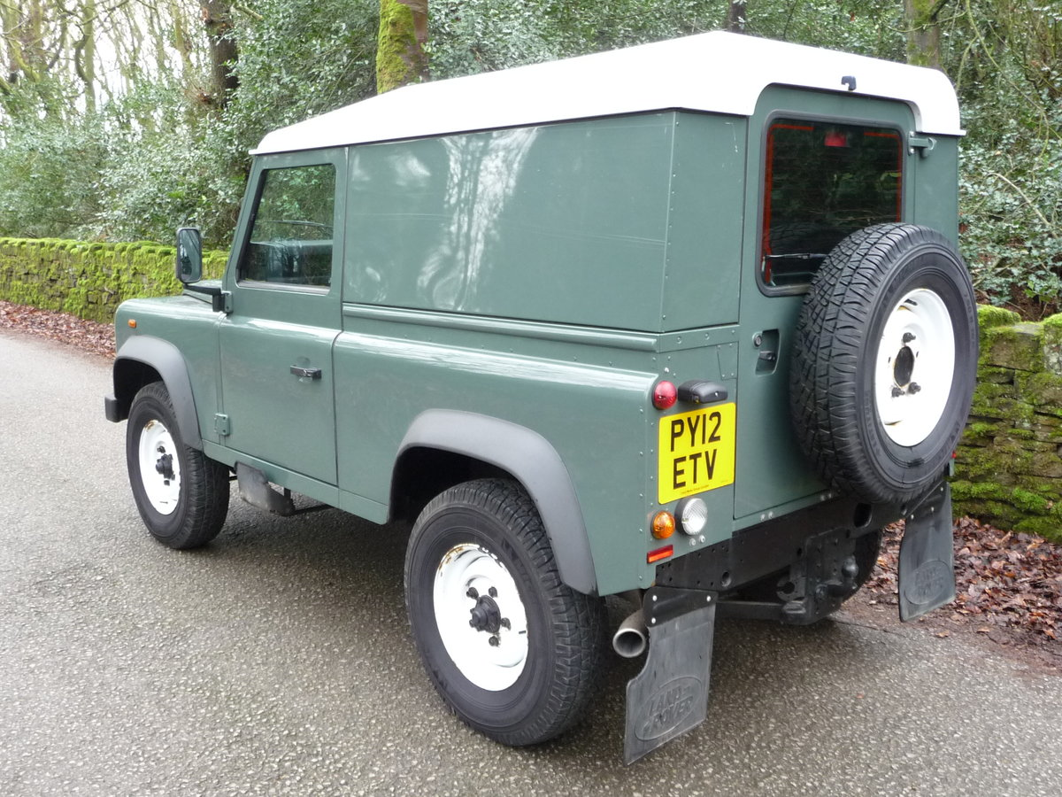 2012 LAND ROVER DEFENDER 90 HARD TOP – 28,000 MILES For Sale (picture 2 of 9)