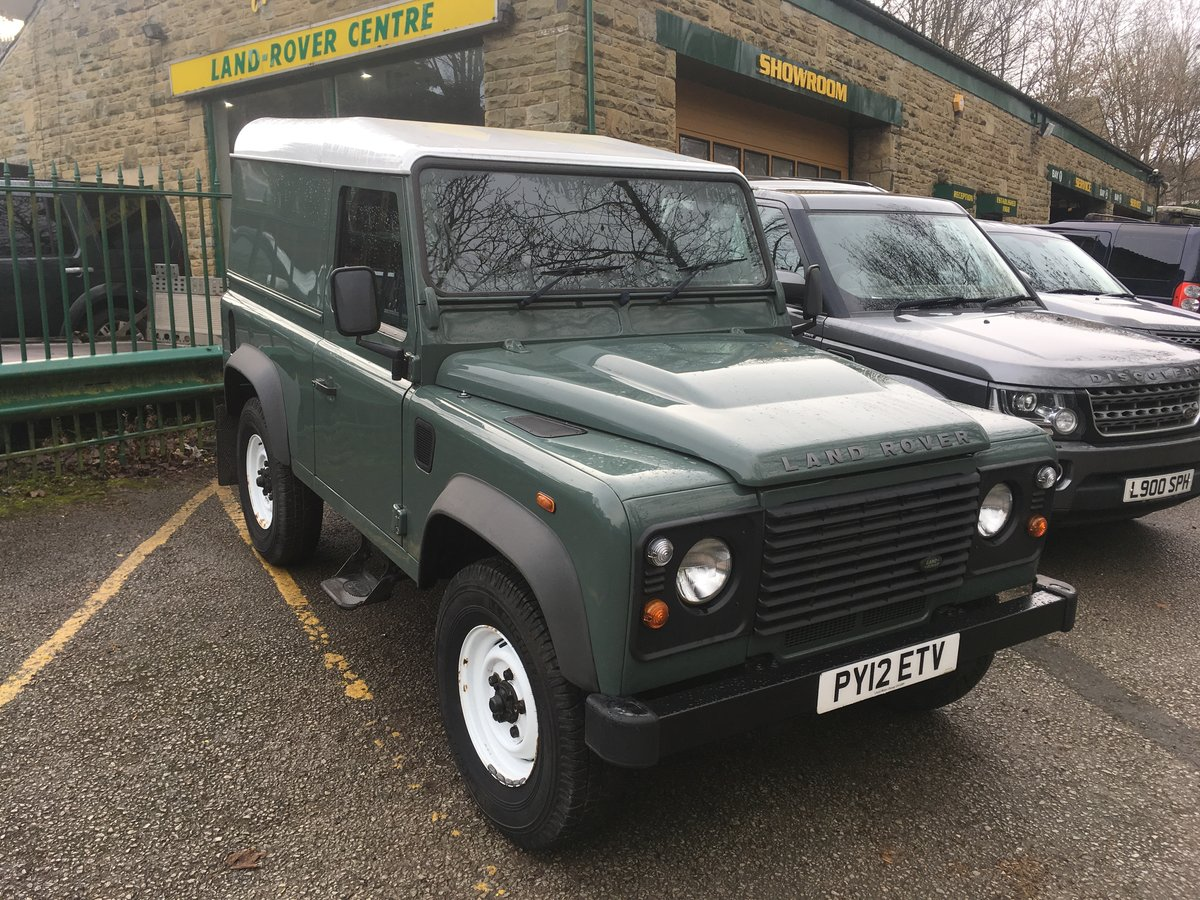 2012 LAND ROVER DEFENDER 90 HARD TOP – 28,000 MILES For Sale (picture 8 of 9)