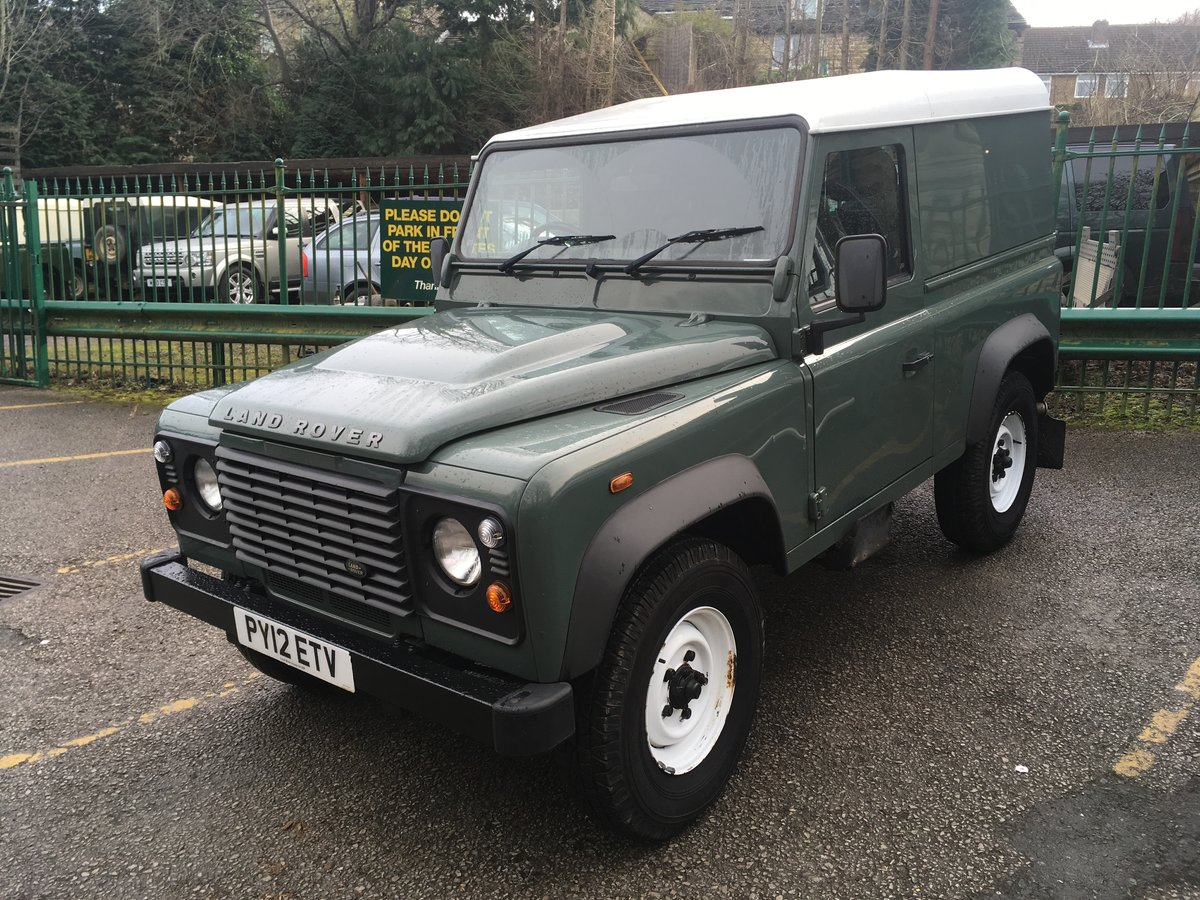 2012 LAND ROVER DEFENDER 90 HARD TOP – 28,000 MILES For Sale (picture 9 of 9)