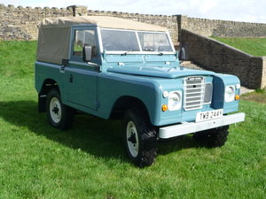 1982 Land Rover Series 3 – Fully Rebuilt – Galvanised Chassis SOLD