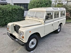 1980 LAND ROVER - 109 SANTANA ESPECIAL SERIE 3 For Sale