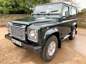 2008 08/58 Defender 90 TDCi XS station waqon+2 owners just 45K For Sale