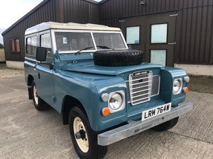 1980  Land Rover® Series 3 * 200TDI, Galvanised Chassis* (LRM)
