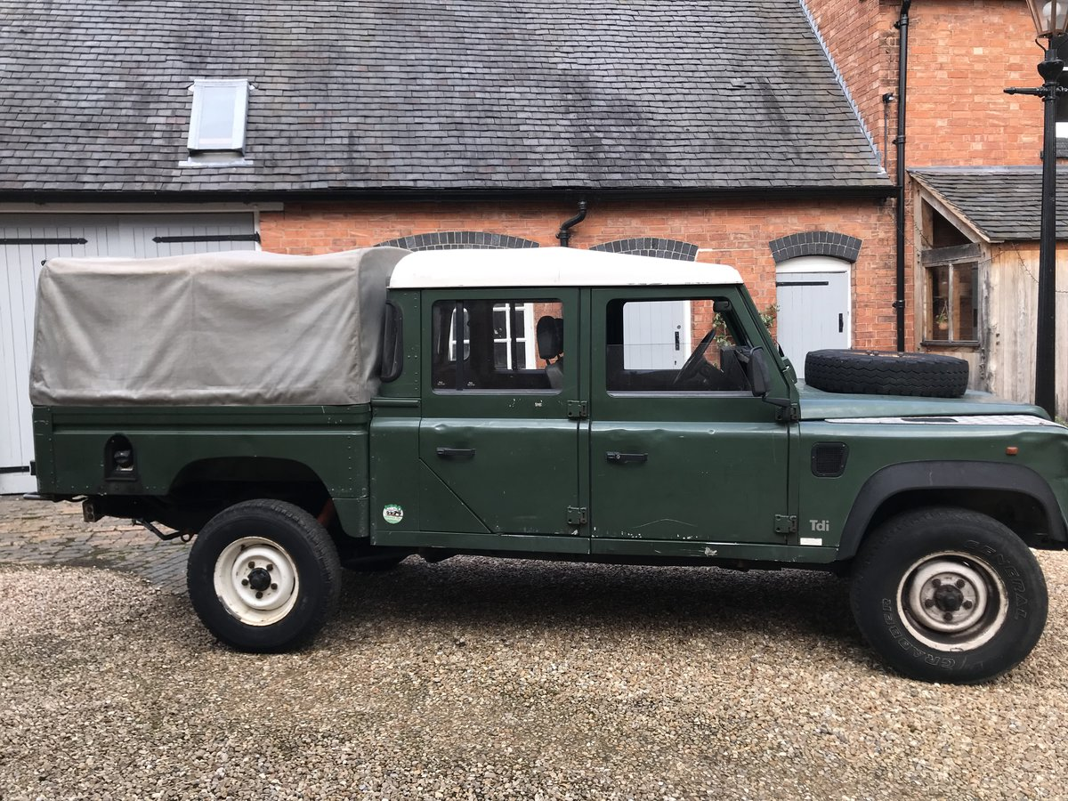 Land Rover Defender 130 LHD 1994 300tdi USA Exportable For Sale (picture 1 of 6)