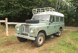 1974 Land Rover  V8 109 Station Wagon Dormobile For Sale
