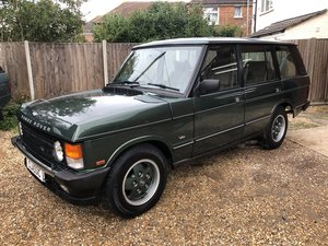 1993 Range Rover LSE, Collector Quality For Sale