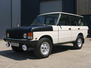 1989 Land Rover Range Rover - Ex-Police Classic!