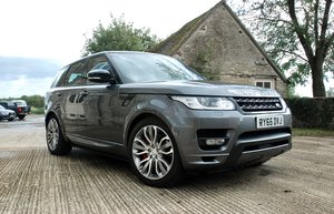 2016 RANGE ROVER SPORT 4.4 SDV8 AUTOBIOGRAPHY DYNAMIC For Sale