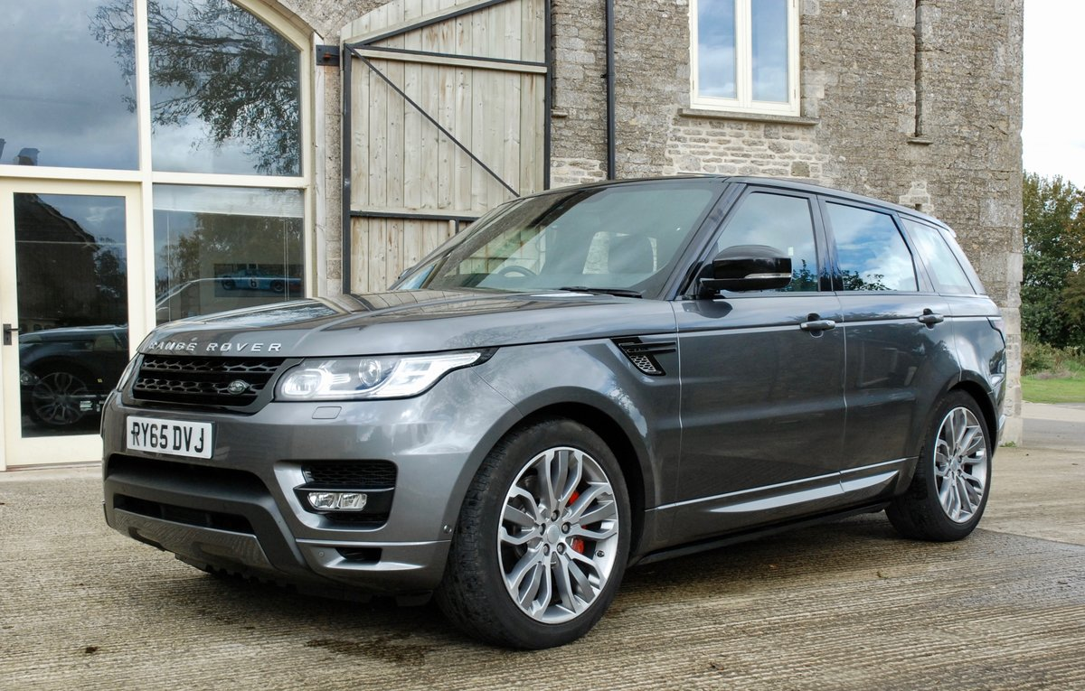 2016 RANGE ROVER SPORT 4.4 SDV8 AUTOBIOGRAPHY DYNAMIC For Sale (picture 2 of 6)