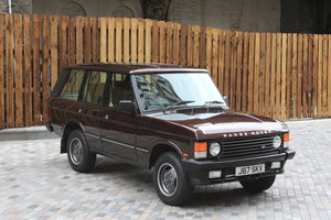 1992 Range Rover Classic 3.9 EFI, RARE MANUAL GEARBOX For Sale